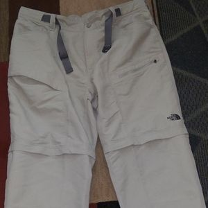 The North Face Cargo Convertible  Hiking Pants XL